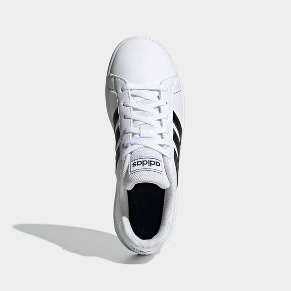 全品ポイント15倍 09/13 17:00〜09/17 16:59 返品可 アディダス公式 シューズ スニーカー adidas グランドコート K / GRANDCOURT K|adidas|02