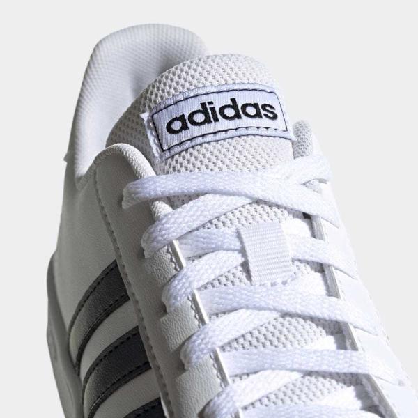 全品ポイント15倍 09/13 17:00〜09/17 16:59 返品可 アディダス公式 シューズ スニーカー adidas グランドコート K / GRANDCOURT K|adidas|08