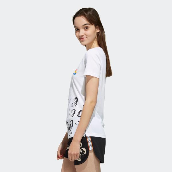返品可 アディダス公式 ウェア トップス adidas W FARM P Tシャツ AOP|adidas|02