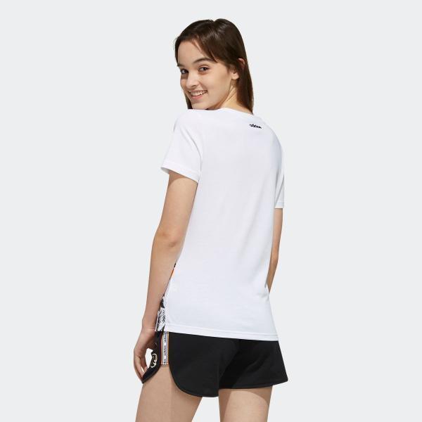 返品可 アディダス公式 ウェア トップス adidas W FARM P Tシャツ AOP|adidas|03