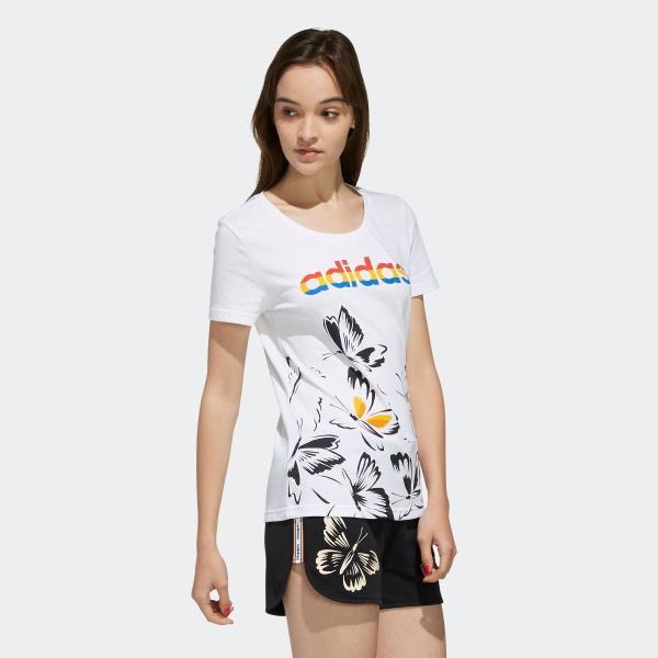 返品可 アディダス公式 ウェア トップス adidas W FARM P Tシャツ AOP|adidas|04