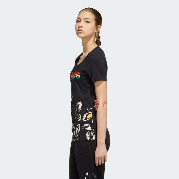 全品送料無料! 08/14 17:00〜08/22 16:59 返品可 アディダス公式 ウェア トップス adidas W FARM P Tシャツ AOP|adidas|02
