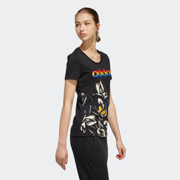 全品送料無料! 08/14 17:00〜08/22 16:59 返品可 アディダス公式 ウェア トップス adidas W FARM P Tシャツ AOP|adidas|04
