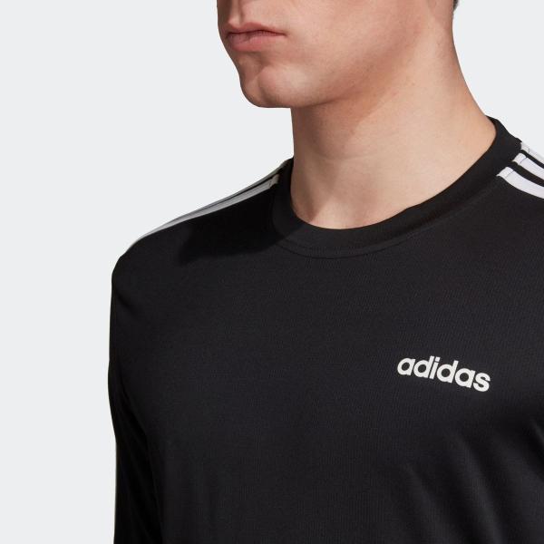 全品送料無料! 08/14 17:00〜08/22 16:59 返品可 アディダス公式 ウェア トップス adidas M D2M 3ストライプスロングスリーブTシャツ|adidas|07