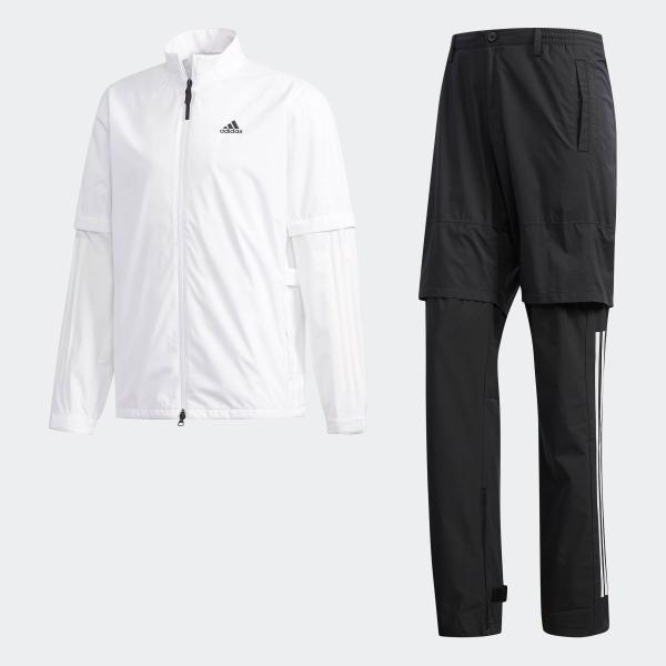全品送料無料! 08/14 17:00〜08/22 16:59 返品可 アディダス公式 ウェア セットアップ adidas PF クライマストーム レインスーツ【ゴルフ】|adidas|06
