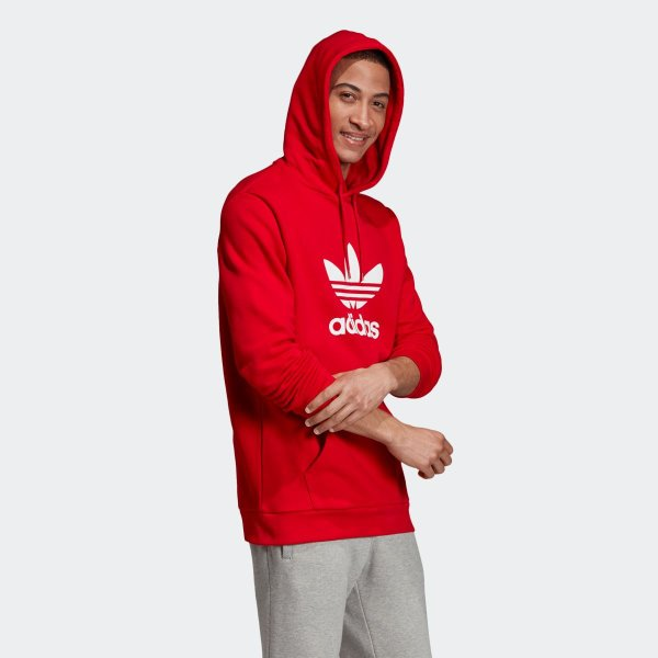 返品可 送料無料 アディダス公式 ウェア トップス adidas トレフォイル パーカー p0924|adidas|04
