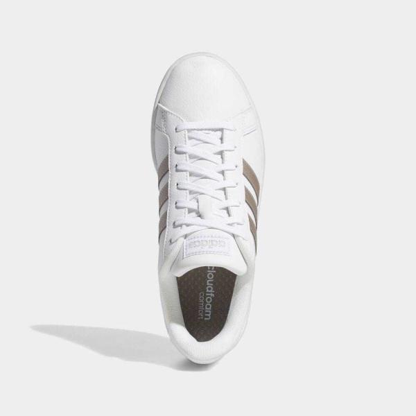 返品可 アディダス公式 シューズ スニーカー adidas グランドコート LEA W / GRANDCOURT LEA W|adidas|02