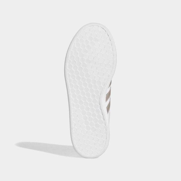 返品可 アディダス公式 シューズ スニーカー adidas グランドコート LEA W / GRANDCOURT LEA W|adidas|03