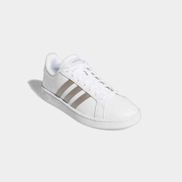 返品可 アディダス公式 シューズ スニーカー adidas グランドコート LEA W / GRANDCOURT LEA W|adidas|04