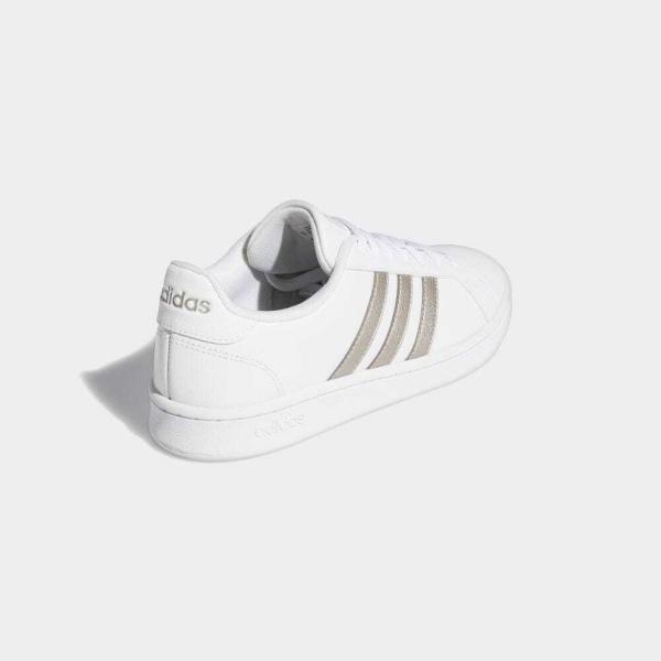返品可 アディダス公式 シューズ スニーカー adidas グランドコート LEA W / GRANDCOURT LEA W|adidas|05