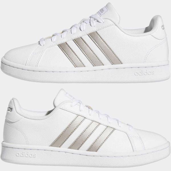 返品可 アディダス公式 シューズ スニーカー adidas グランドコート LEA W / GRANDCOURT LEA W|adidas|07