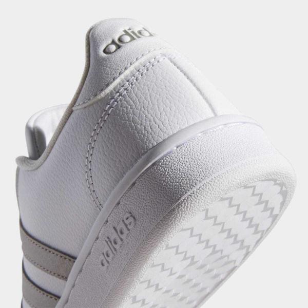 返品可 アディダス公式 シューズ スニーカー adidas グランドコート LEA W / GRANDCOURT LEA W|adidas|08