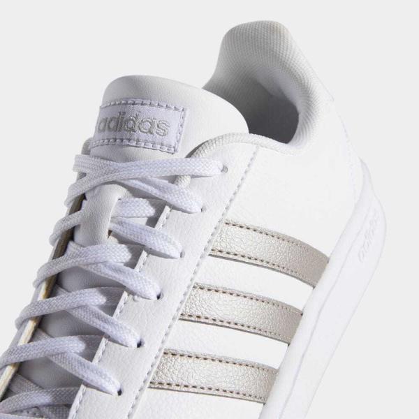 返品可 アディダス公式 シューズ スニーカー adidas グランドコート LEA W / GRANDCOURT LEA W|adidas|09