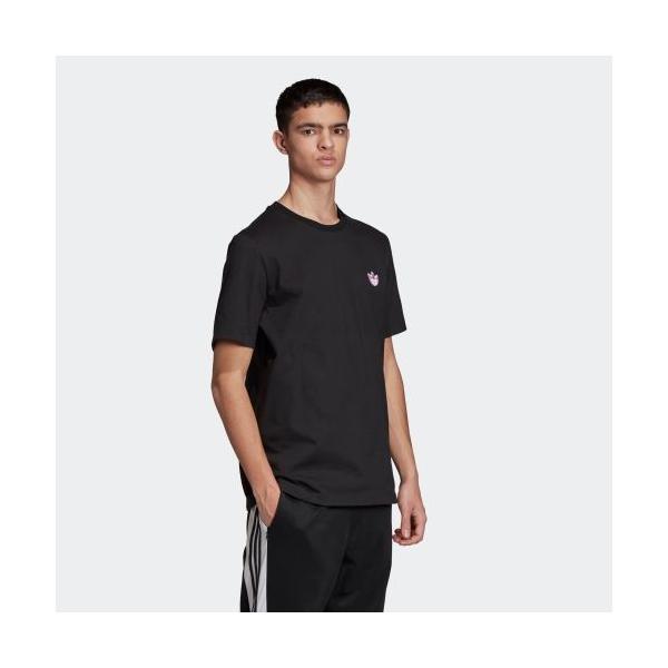 全品送料無料! 08/14 17:00〜08/22 16:59 返品可 アディダス公式 ウェア トップス adidas トレフォイルWAPPEN Tシャツ adidas 04