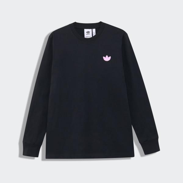 全品送料無料! 08/14 17:00〜08/22 16:59 返品可 アディダス公式 ウェア トップス adidas トレフォイルWAPPEN 長袖Tシャツ|adidas