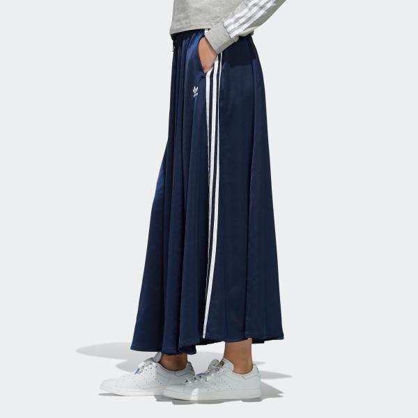 全品ポイント15倍 07/19 17:00〜07/22 16:59 返品可 送料無料 アディダス公式 ウェア ボトムス adidas ロング サテンスカート|adidas|03