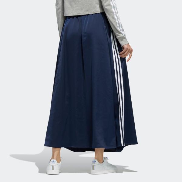 全品ポイント15倍 07/19 17:00〜07/22 16:59 返品可 送料無料 アディダス公式 ウェア ボトムス adidas ロング サテンスカート|adidas|04