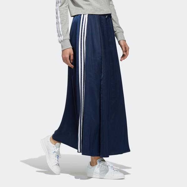 全品ポイント15倍 07/19 17:00〜07/22 16:59 返品可 送料無料 アディダス公式 ウェア ボトムス adidas ロング サテンスカート|adidas|05