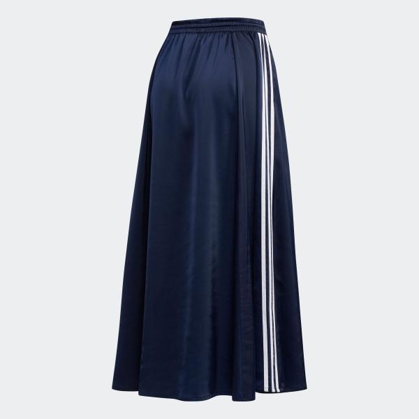 全品ポイント15倍 07/19 17:00〜07/22 16:59 返品可 送料無料 アディダス公式 ウェア ボトムス adidas ロング サテンスカート|adidas|07