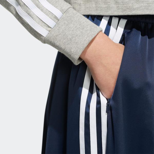 全品ポイント15倍 07/19 17:00〜07/22 16:59 返品可 送料無料 アディダス公式 ウェア ボトムス adidas ロング サテンスカート|adidas|09