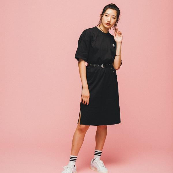 返品可 アディダス公式 ウェア オールインワン adidas トレフォイル ドレス p0924 adidas