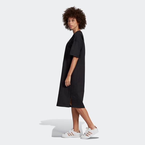 返品可 アディダス公式 ウェア オールインワン adidas トレフォイル ドレス p0924 adidas 04