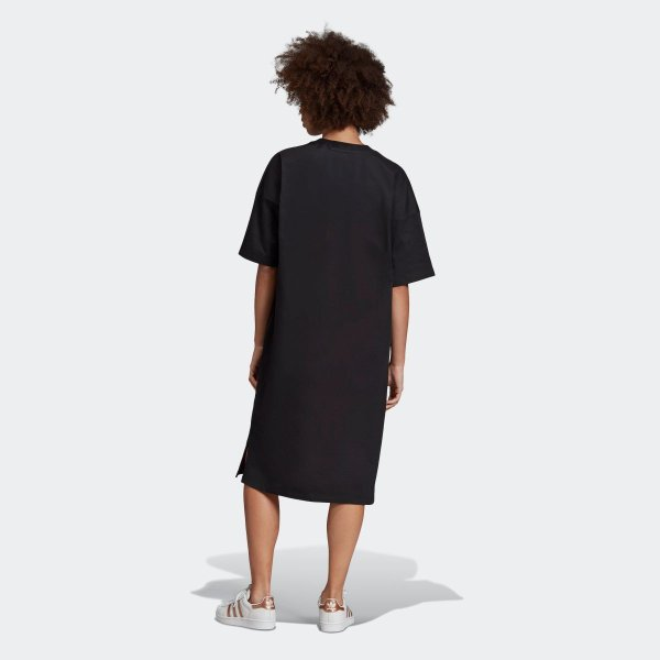 返品可 アディダス公式 ウェア オールインワン adidas トレフォイル ドレス p0924 adidas 05