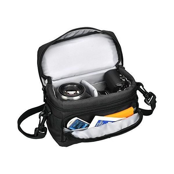 HAKUBA カメラバッグ ルフトデザイン アーバンウォーカー ショルダーバッグ S 1.6L ブラック SLD-UW-SBSBK|adnext|02