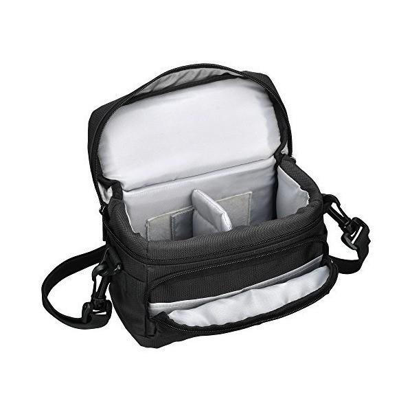 HAKUBA カメラバッグ ルフトデザイン アーバンウォーカー ショルダーバッグ S 1.6L ブラック SLD-UW-SBSBK|adnext|05