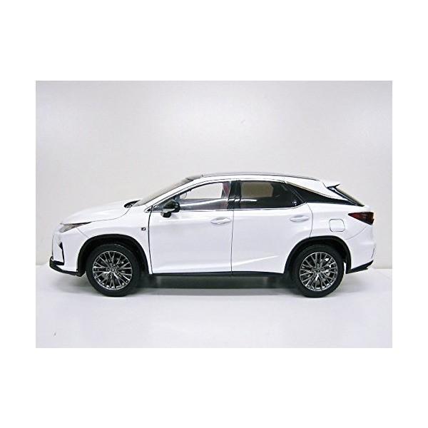 Lexus特注 1/18 レクサス RX 200t Fスポーツ (ホワイト) 2016|adnext|03