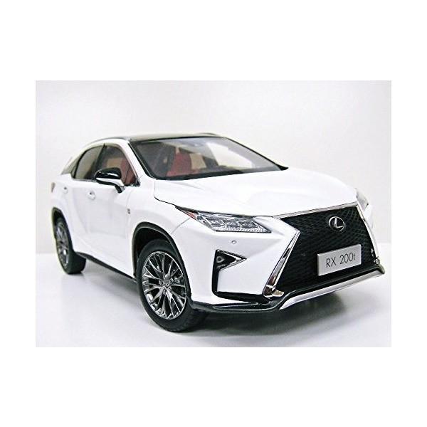 Lexus特注 1/18 レクサス RX 200t Fスポーツ (ホワイト) 2016|adnext|04