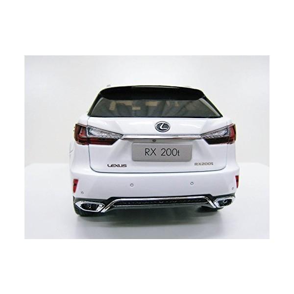 Lexus特注 1/18 レクサス RX 200t Fスポーツ (ホワイト) 2016|adnext|05