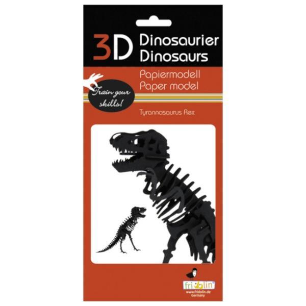 3Dパズル 恐竜 ペーパークラフト トリケラトプス ティラノサウルス 集中力UP 知育玩具 模型 工作 プレゼント 販売促進 ノベルティ FR11643 FR11642|adoshop|03