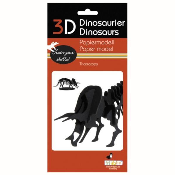 3Dパズル 恐竜 ペーパークラフト トリケラトプス ティラノサウルス 集中力UP 知育玩具 模型 工作 プレゼント 販売促進 ノベルティ FR11643 FR11642|adoshop|05