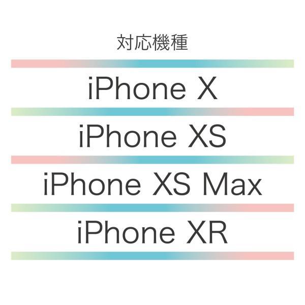 iPhone XR XSMax XS X ケース クリアケース 大理石柄 リング付き|advan|05