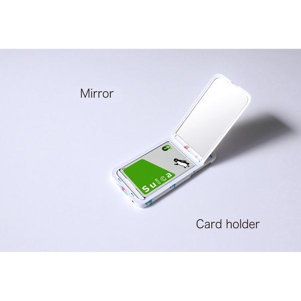 iPhone XS ケース iPhoneX iPhone8 iPhone7 ケース カード収納 鏡付き 背面収納|advan|05