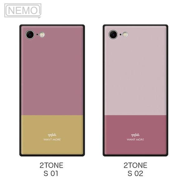 iPhone11 ケース 韓国 iPhone SE ケース iPhone8 ケース iPhoneケース iPhone11Pro ケース iPhone7 ケース iPhone SE2 ケース ガラス スクエア カラー NEMO|advan|07