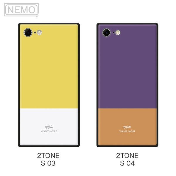 iPhone11 ケース 韓国 iPhone SE ケース iPhone8 ケース iPhoneケース iPhone11Pro ケース iPhone7 ケース iPhone SE2 ケース ガラス スクエア カラー NEMO|advan|08