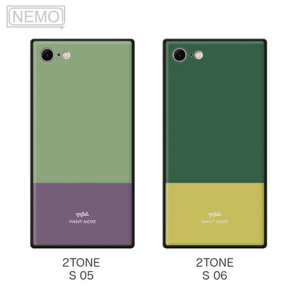 iPhone11 ケース 韓国 iPhone SE ケース iPhone8 ケース iPhoneケース iPhone11Pro ケース iPhone7 ケース iPhone SE2 ケース ガラス スクエア カラー NEMO|advan|09