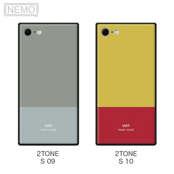 iPhone11 ケース 韓国 iPhone SE ケース iPhone8 ケース iPhoneケース iPhone11Pro ケース iPhone7 ケース iPhone SE2 ケース ガラス スクエア カラー NEMO|advan|11