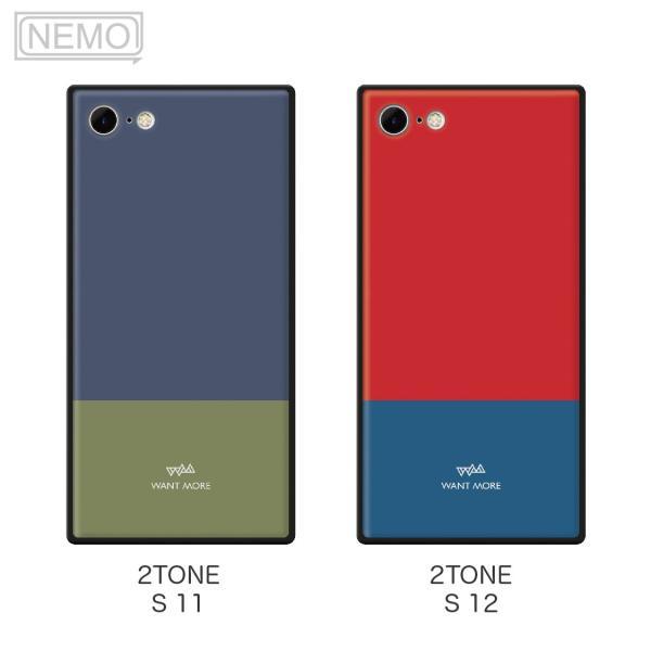iPhone11 ケース 韓国 iPhone SE ケース iPhone8 ケース iPhoneケース iPhone11Pro ケース iPhone7 ケース iPhone SE2 ケース ガラス スクエア カラー NEMO|advan|12