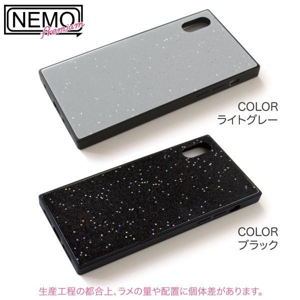 iPhone XR ケース iPhone XS ケース iPhone8 ケース iPhone XS Max X 8 7 8Plus 7Plus ケース ガラス 四角 カラー ラメ NEMO|advan|15