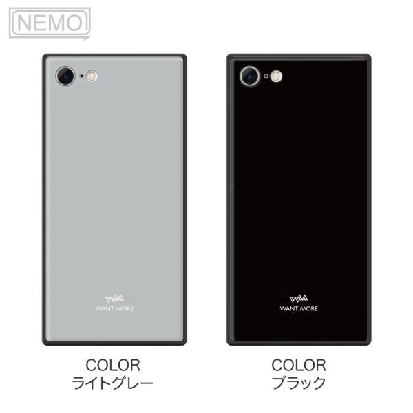 iPhone11 ケース スクエア iPhone8 ケース iPhone11Pro ケース iPhone XR ケース iPhone  XS XSMax X 8 7 8Plus 7Plus ケース ガラス 四角 カラー NEMO|advan|13