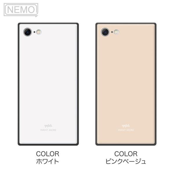 iPhone11 ケース スクエア iPhone8 ケース iPhone11Pro ケース iPhone XR ケース iPhone  XS XSMax X 8 7 8Plus 7Plus ケース ガラス 四角 カラー NEMO|advan|14