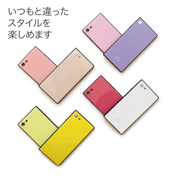 iPhone11 ケース スクエア iPhone8 ケース iPhone11Pro ケース iPhone XR ケース iPhone  XS XSMax X 8 7 8Plus 7Plus ケース ガラス 四角 カラー NEMO|advan|04