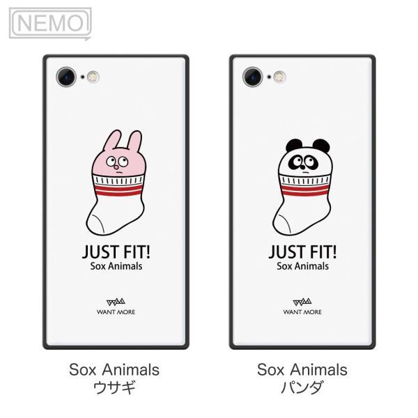 iPhone11Pro ケース ガラス iPhone11 ケース iPhone8 ケース iPhone XR ケース iPhone 11ProMax XS XSMax X 7 8Plus 7Plus ケース スクエア 動物 NEMO|advan|09