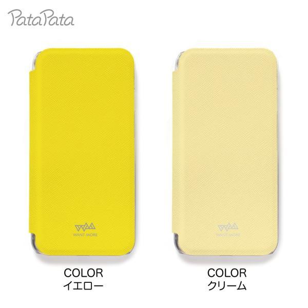 iPhone8 ケース 手帳型 iPhone11Pro ケース iPhone 11 XS X 7 8Plus 7Plus 6s 6 6sPlus 6Plus ケース カード収納 クリア カラー PataPata|advan|12