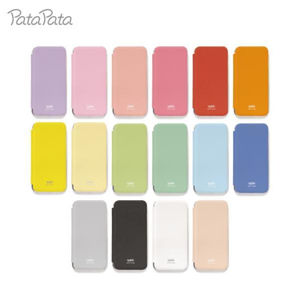 iPhone8 ケース 手帳型 iPhone11Pro ケース iPhone 11 XS X 7 8Plus 7Plus 6s 6 6sPlus 6Plus ケース カード収納 クリア カラー PataPata|advan|08