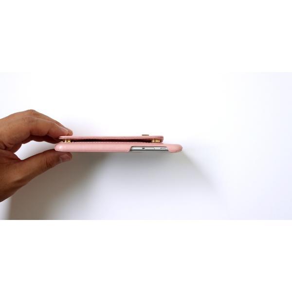 1000円ポッキリ iPhone6s iPhone6 ケース カード背面収納 鏡付き ストラップ付|advan|15