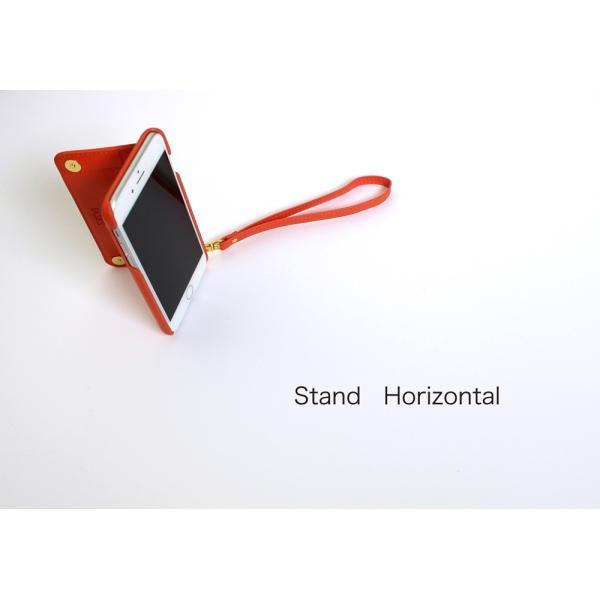 1000円ポッキリ iPhone6s iPhone6 ケース カード背面収納 鏡付き ストラップ付|advan|17